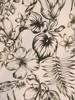 Sukienka z tkaniny, zwiewna kreacja w kwiaty 29877