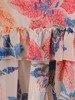Trapezowa sukienka z falbanami 25940
