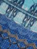 Tunika z tkaniny w wiosennej kolorystyce 28224