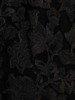 Wieczorowa asymetryczna sukienka, jasna kreacja z koronkową górą 24864