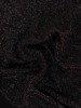 Wieczorowa sukienka z dzianiny i szyfonu, kreacja z brokatowym topem 23771