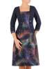 Wyszczuplająca sukienka z imitacją żakietu 27043