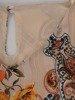 Zwiewna szyfonowa bluzka z falbanami na rękawach 24826