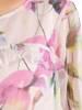 Zwiewna tunika z wzorzystego szyfonu 30139